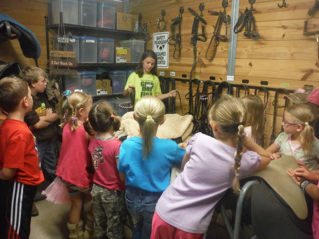 Equine-Assisted Vacation Bible School (EAVBS)